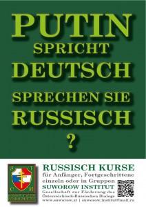Plakat Sprachkurs